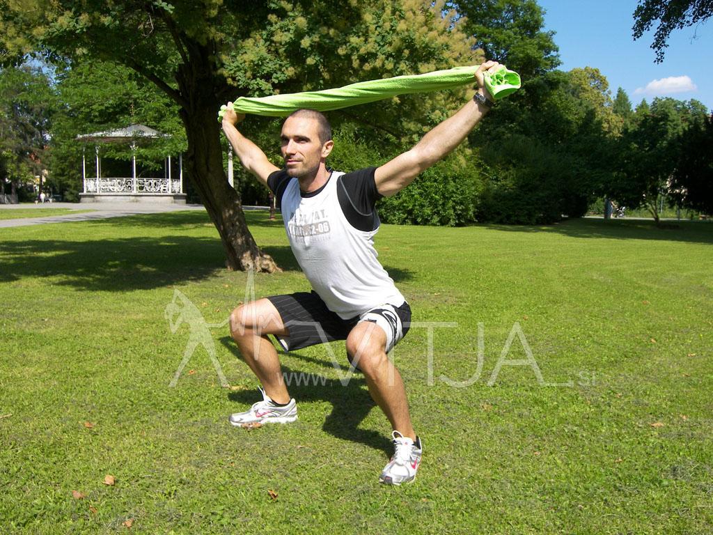 Trening za celo telo v naravi 1 1