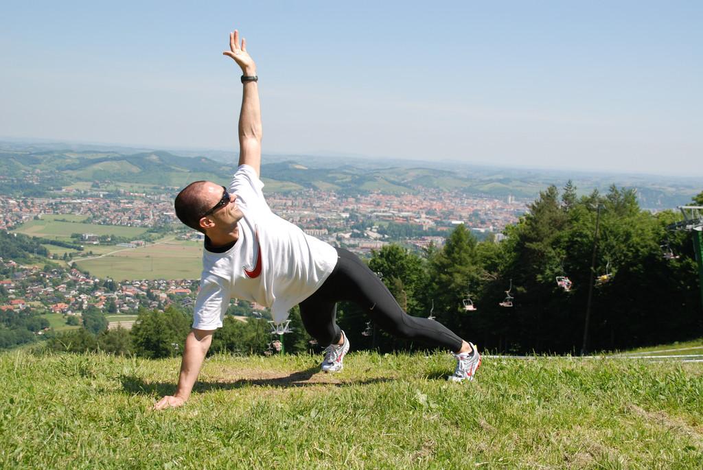 trening za celo telo v naravi