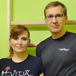 Tanja Zorjan Tušek in Aleksander Tušek