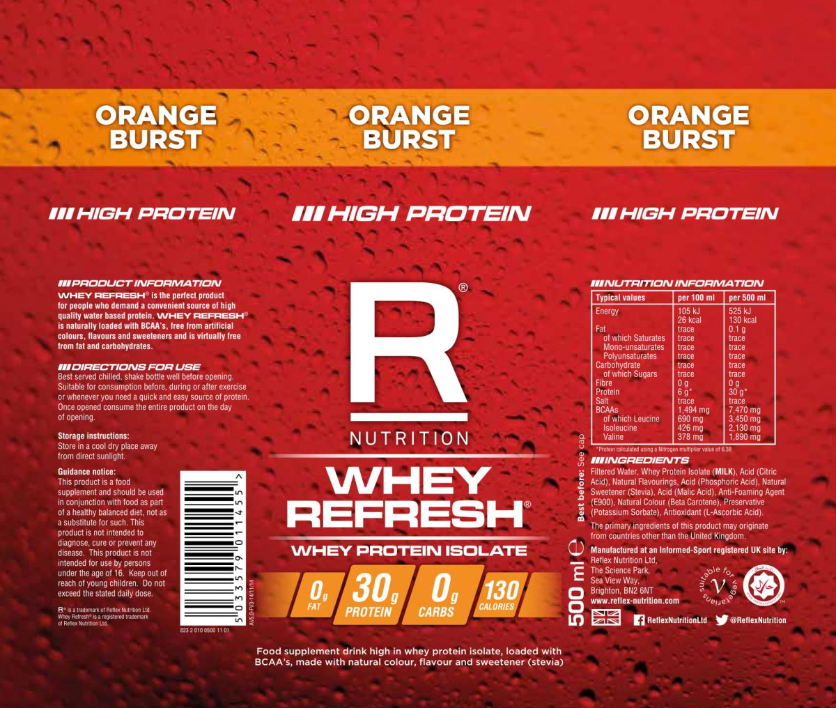 whey refresh