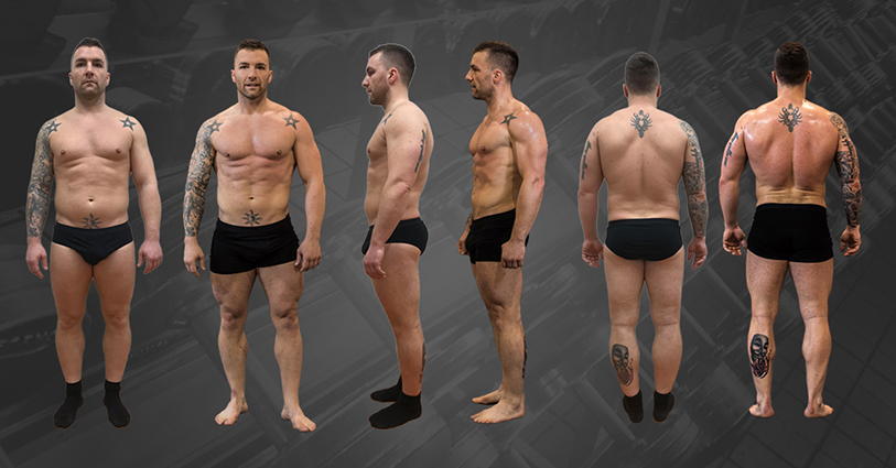Mišo preobrazba 8 tednov(-13KG maščobe +3,5KG puste mase) 1
