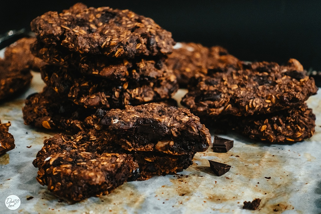Čokoladni energijski keksi (10 keksov) 2