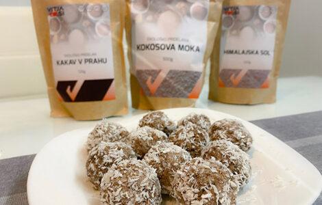 kokosove beljakovinske kroglice