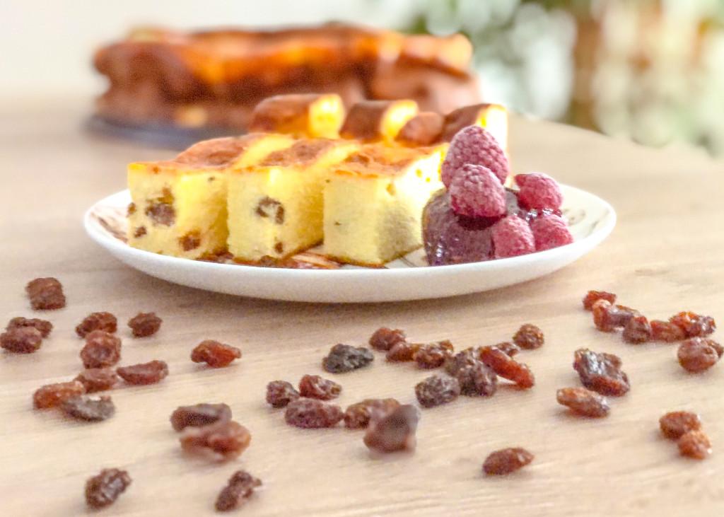 Sočna skutina debelinka - proteinska torta brez sladkorja 1