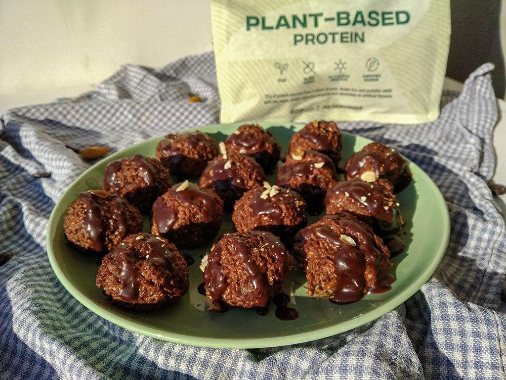 Proteinske brownie kroglice 1