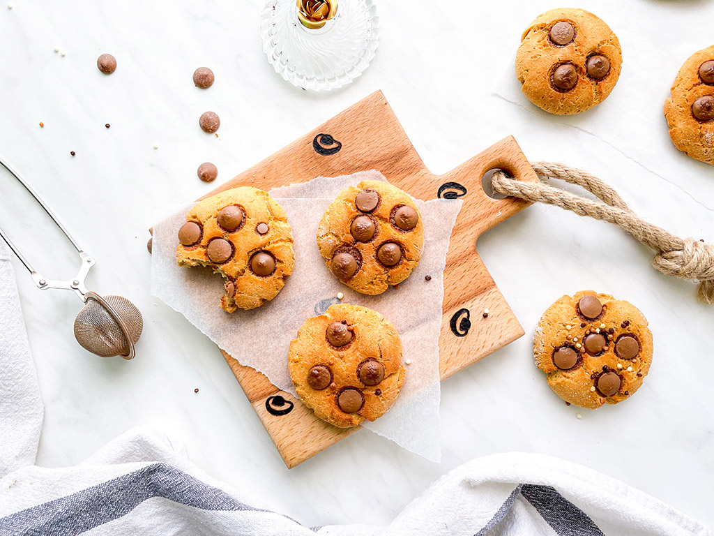 beljakovinski arašidovi piškoti